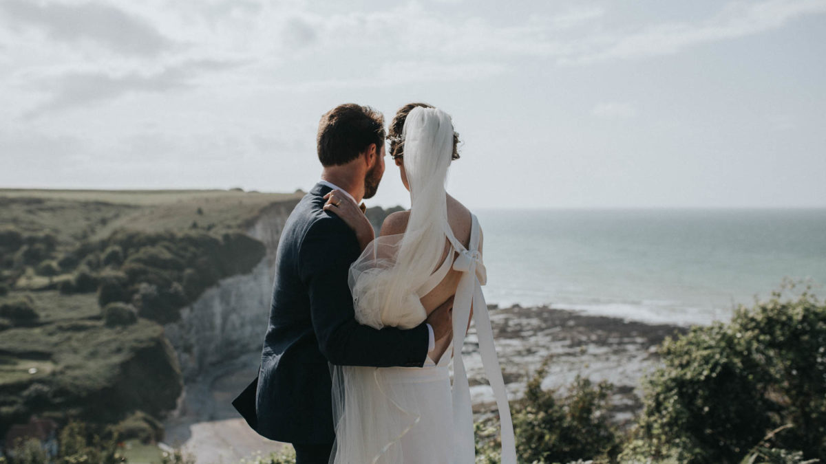 mariage sur les cotes normandes